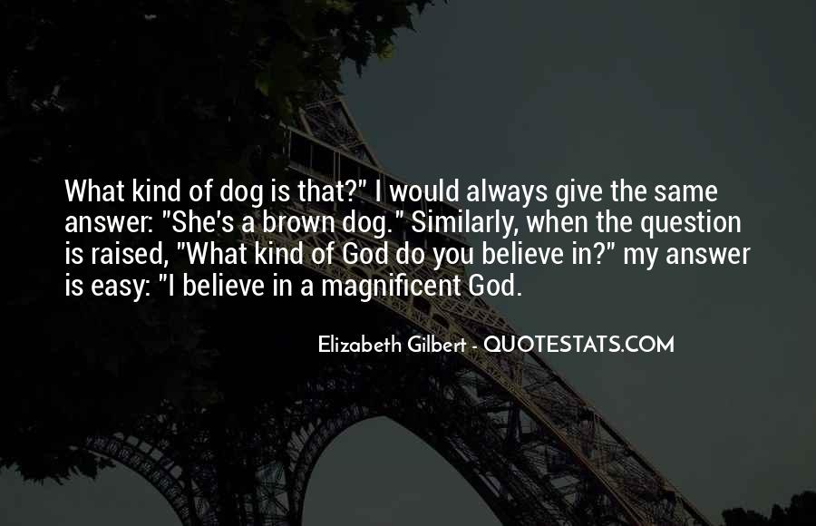 God Is The Answer Quotes #142359