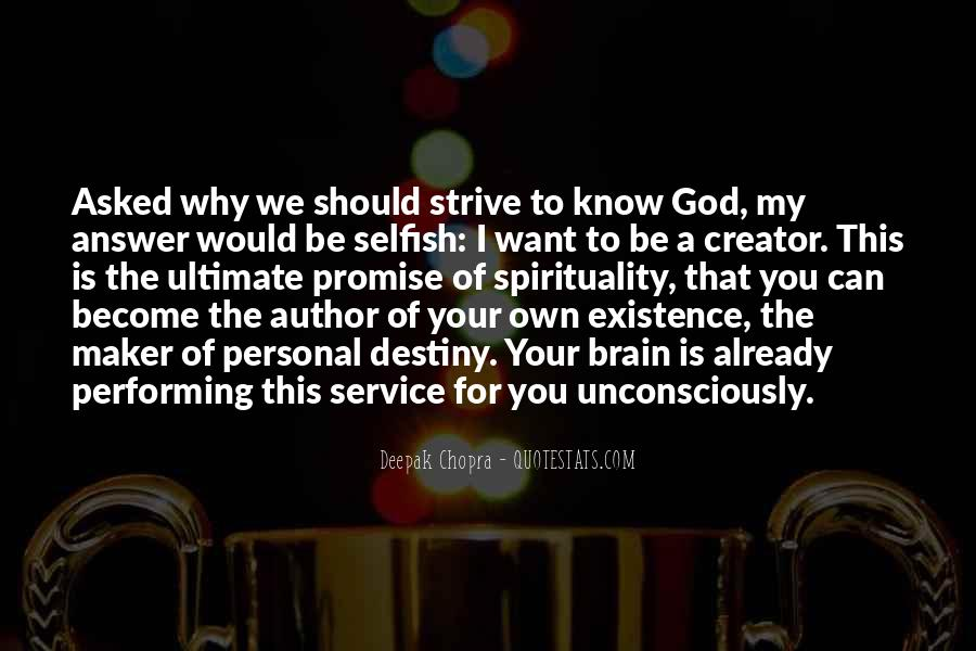 God Is The Answer Quotes #15397