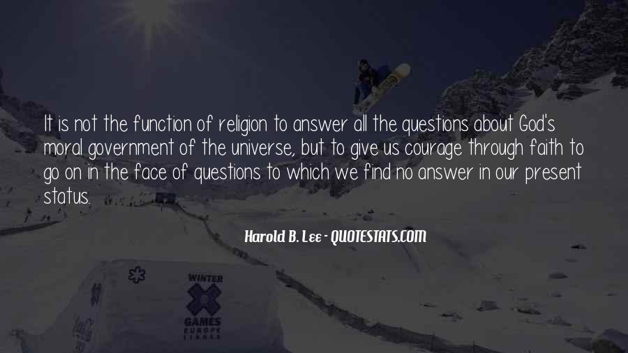 God Is The Answer Quotes #159529