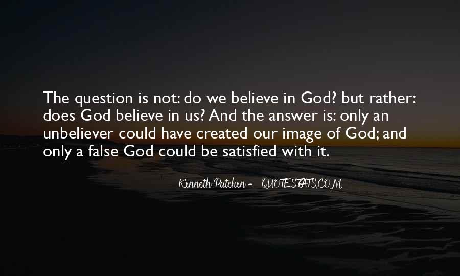 God Is The Answer Quotes #271337