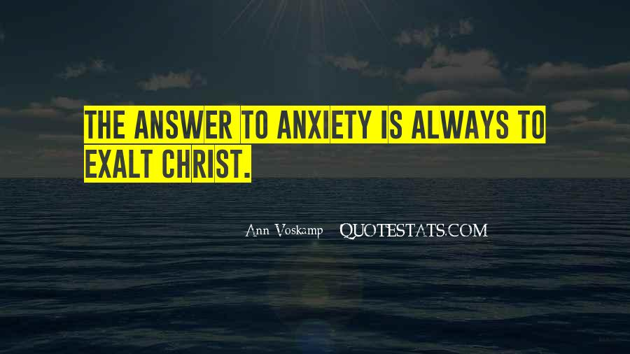 God Is The Answer Quotes #317876