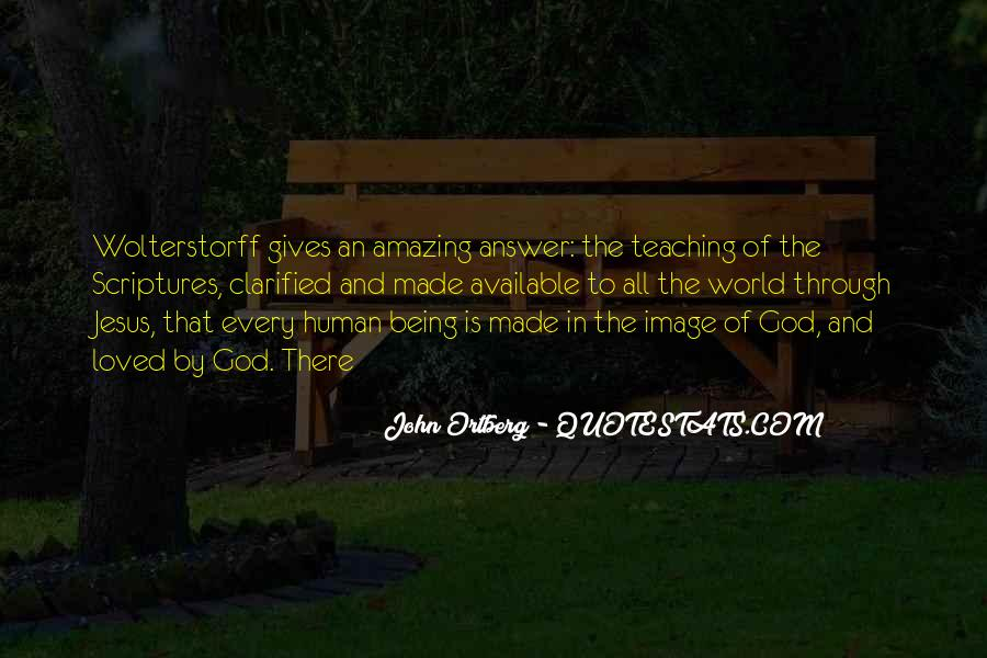 God Is The Answer Quotes #376840