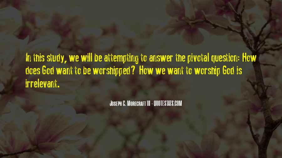 God Is The Answer Quotes #377972