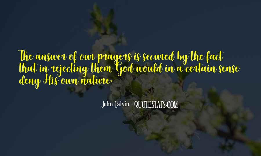 God Is The Answer Quotes #440138
