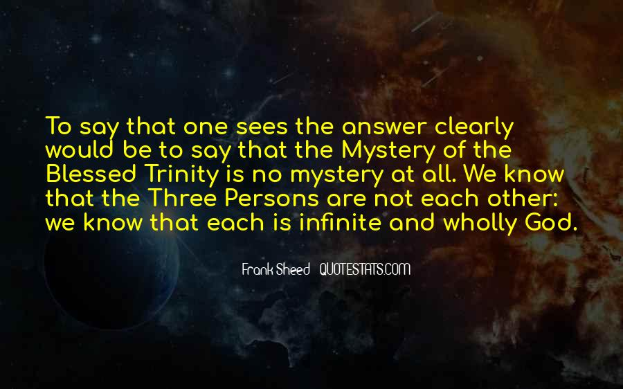 God Is The Answer Quotes #443978
