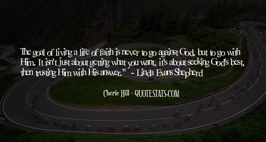 God Is The Answer Quotes #47113