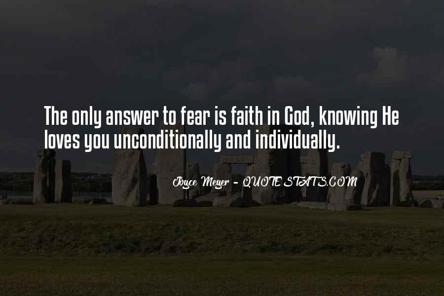 God Is The Answer Quotes #749391