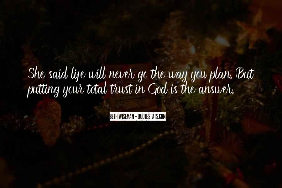 God Is The Answer Quotes #795885