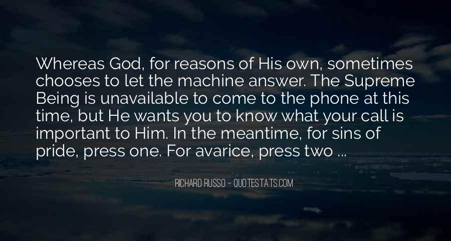 God Is The Answer Quotes #830307