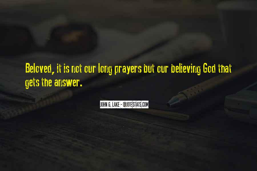 God Is The Answer Quotes #837894