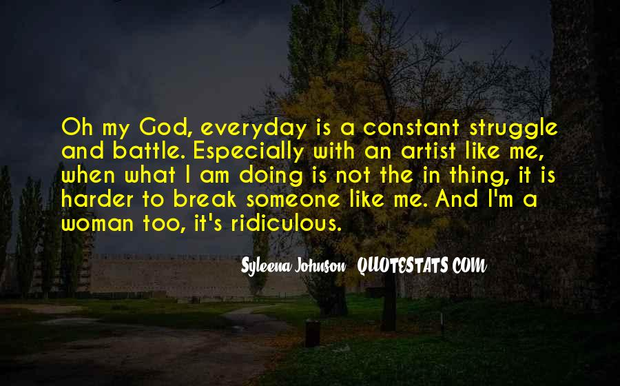 God Is The Artist Quotes #115683