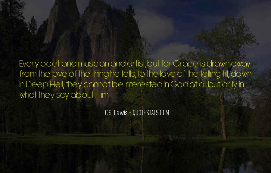 God Is The Artist Quotes #1317957