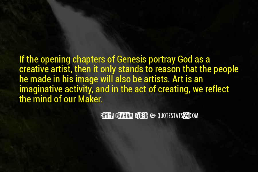 God Is The Artist Quotes #1423849