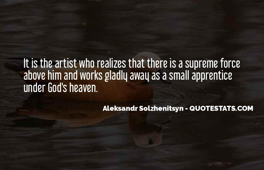 God Is The Artist Quotes #161802