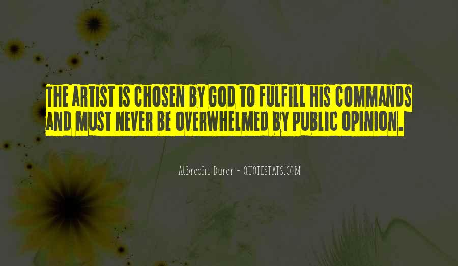 God Is The Artist Quotes #1667259
