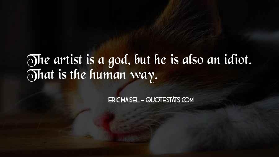 God Is The Artist Quotes #1733036