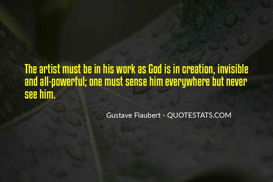 God Is The Artist Quotes #1755411