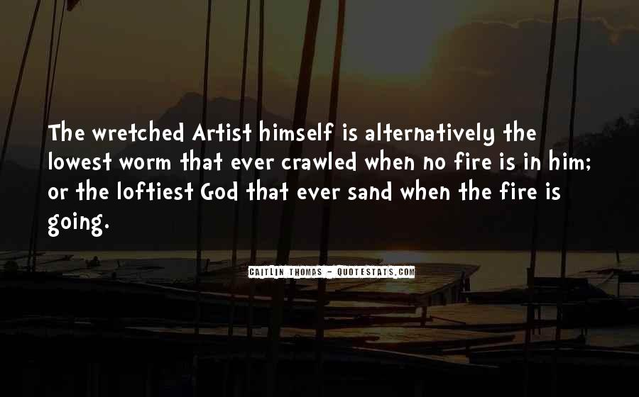 God Is The Artist Quotes #214748