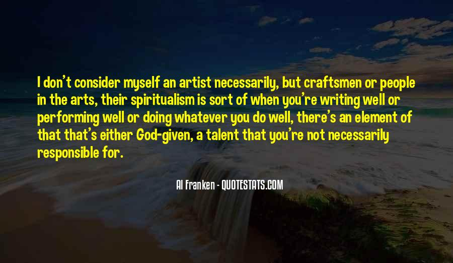 God Is The Artist Quotes #366831