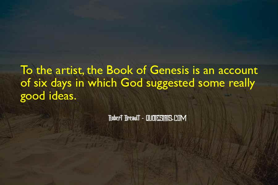 God Is The Artist Quotes #440247