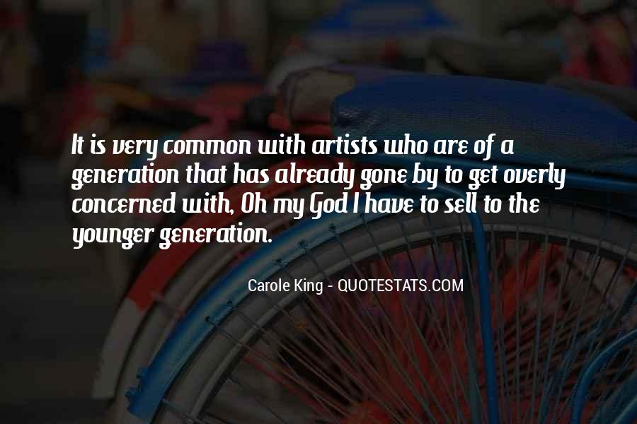 God Is The Artist Quotes #582798