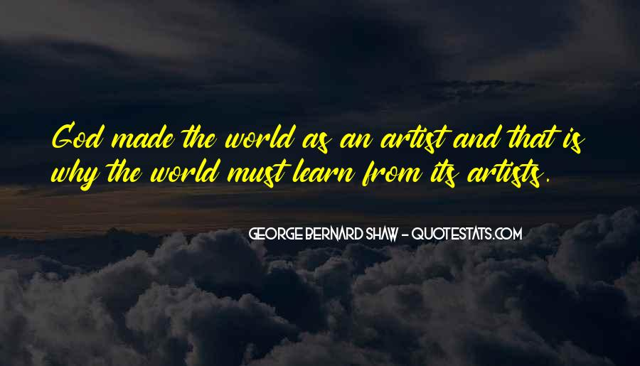 God Is The Artist Quotes #746197