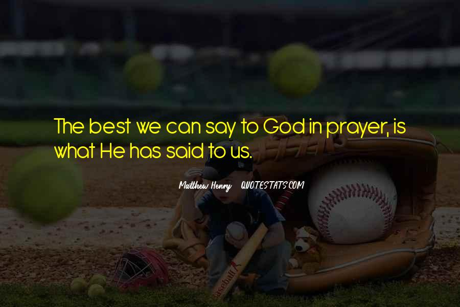 God Is The Best Quotes #134305