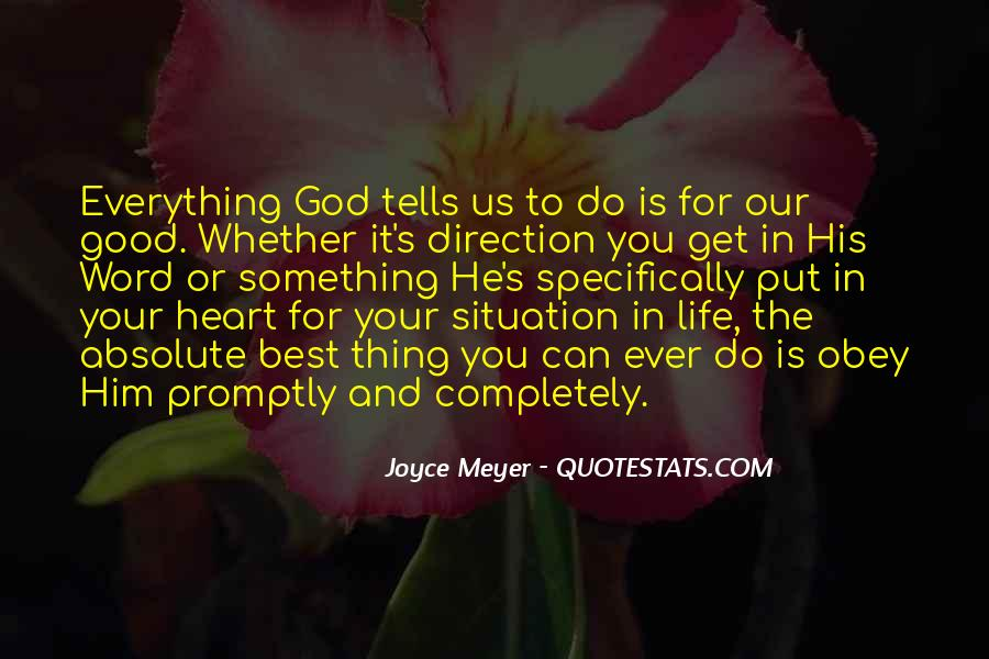 God Is The Best Quotes #163785