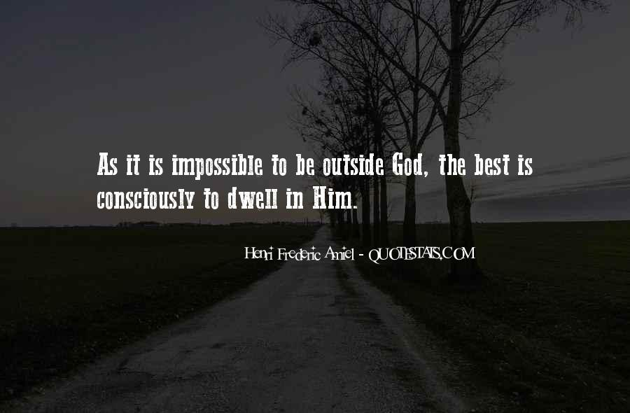 God Is The Best Quotes #164876