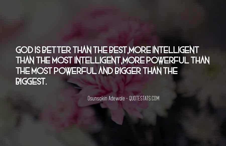 God Is The Best Quotes #165952