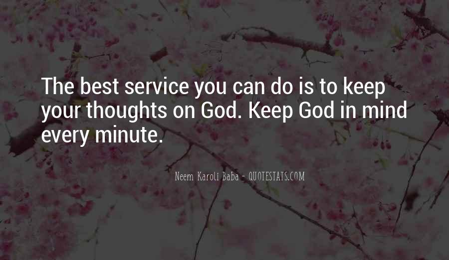 God Is The Best Quotes #203790