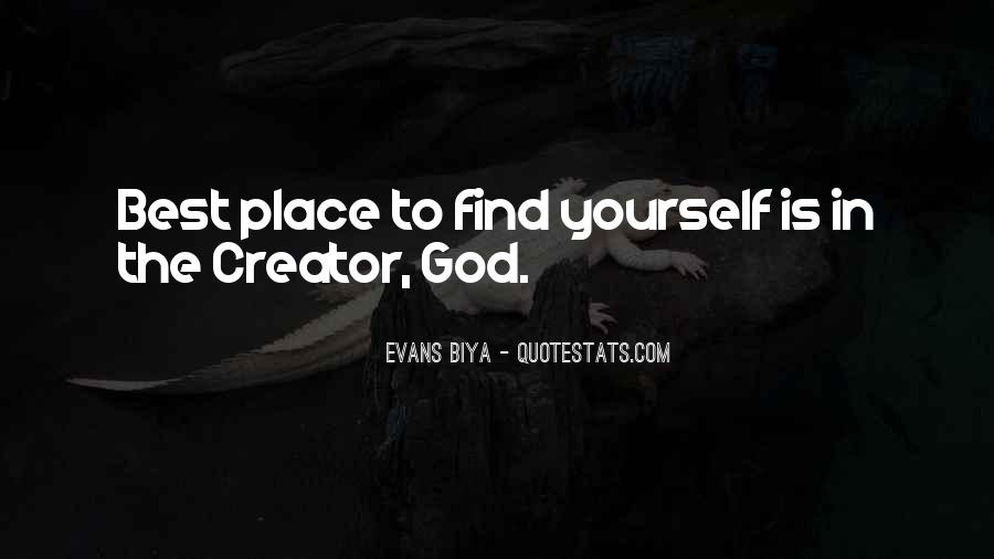 God Is The Best Quotes #207862