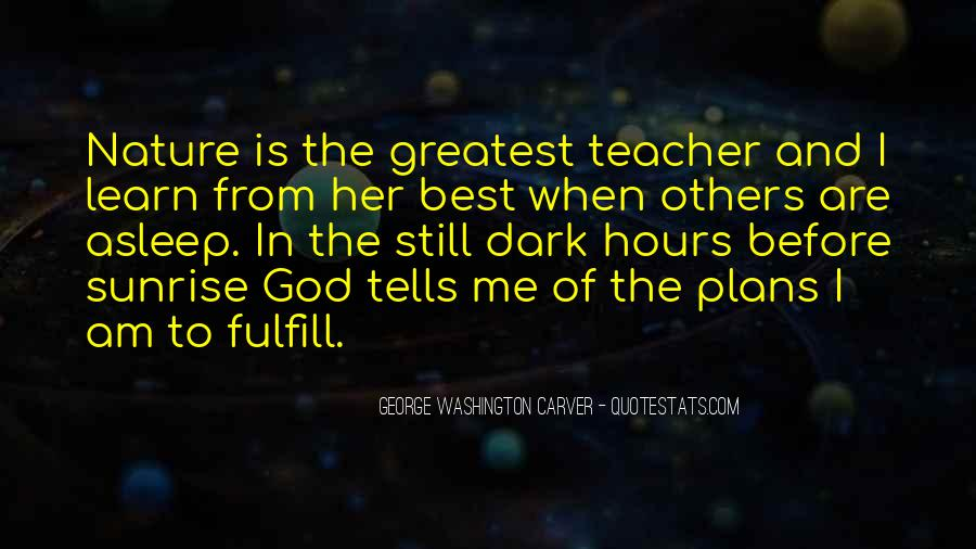 God Is The Best Quotes #21235