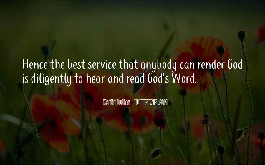 God Is The Best Quotes #23346