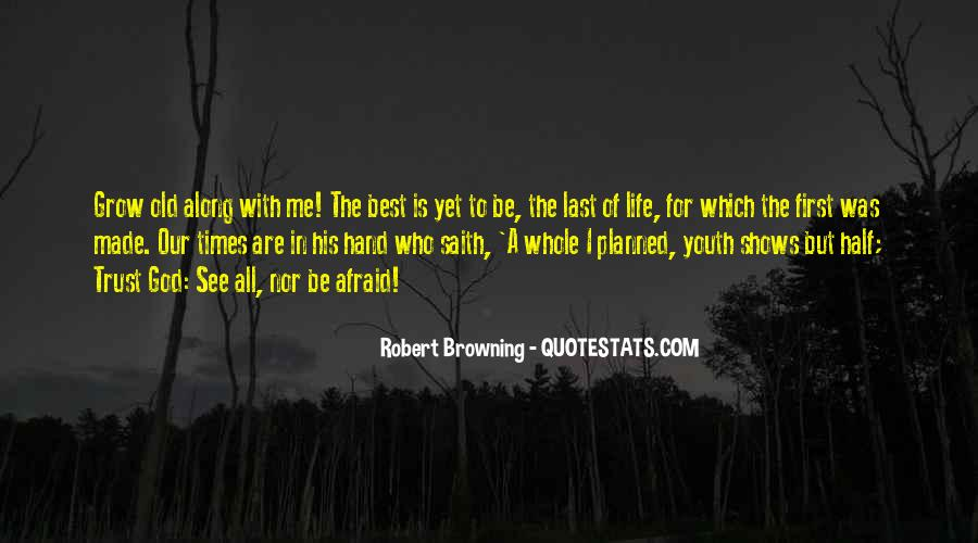 God Is The Best Quotes #27087