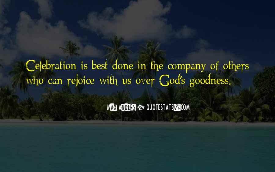 God Is The Best Quotes #332567