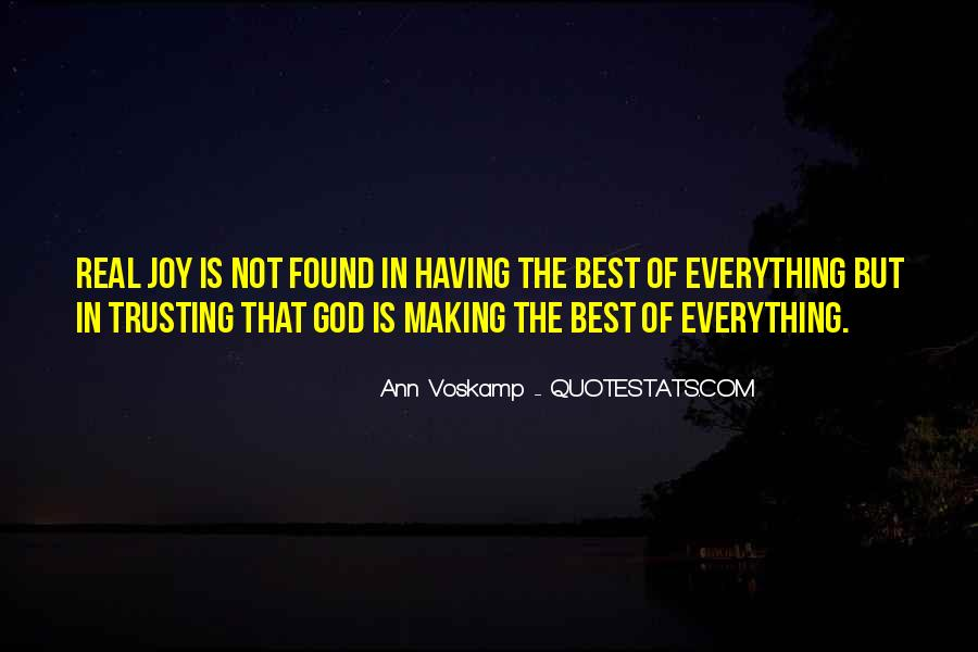 God Is The Best Quotes #351975