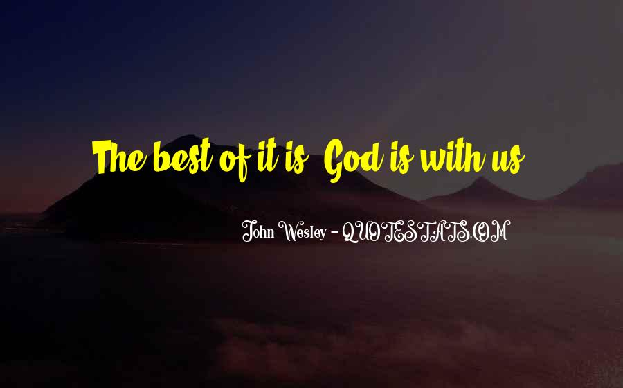 God Is The Best Quotes #367541
