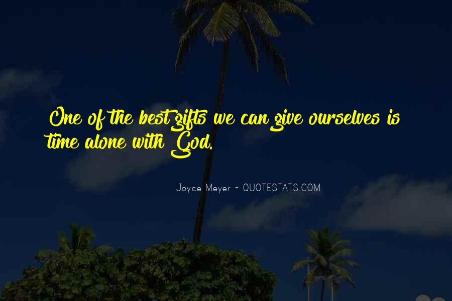 God Is The Best Quotes #369753