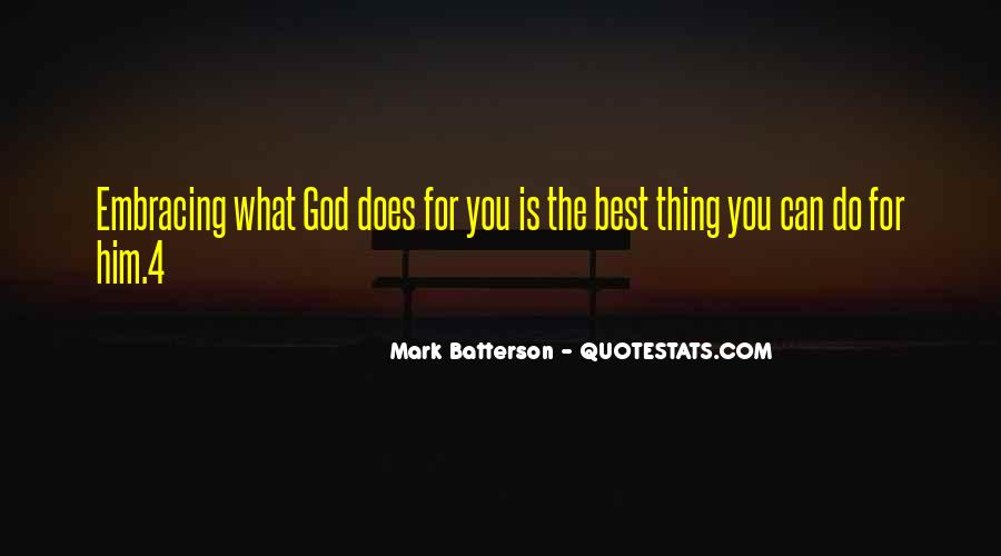 God Is The Best Quotes #371209