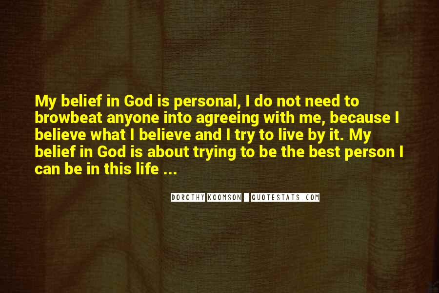 God Is The Best Quotes #378027