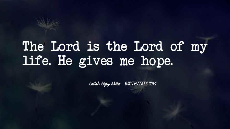 God Is The Love Of My Life Quotes #427690