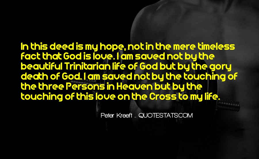 God Is The Love Of My Life Quotes #428389