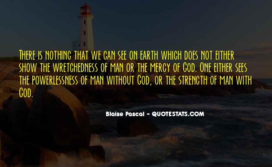 God Is The Strength Quotes #102099