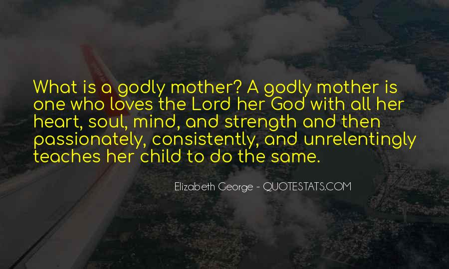 God Is The Strength Quotes #106637