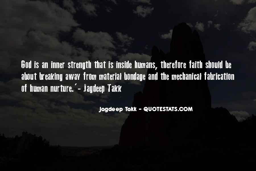 God Is The Strength Quotes #118232