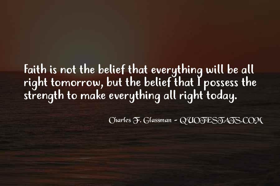 God Is The Strength Quotes #171316