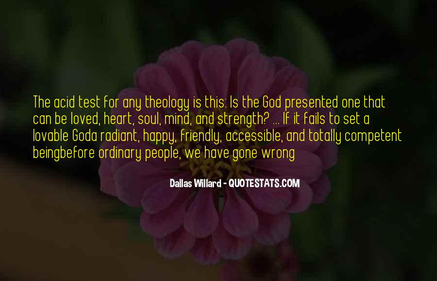 God Is The Strength Quotes #222913