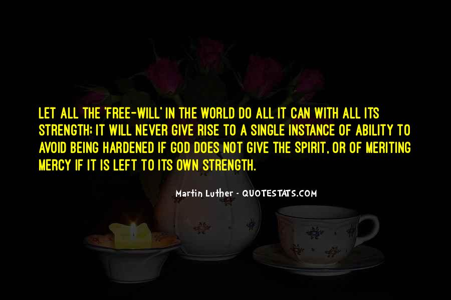 God Is The Strength Quotes #228627