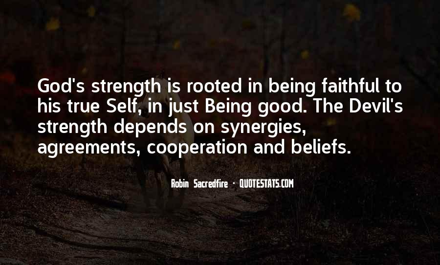 God Is The Strength Quotes #233348